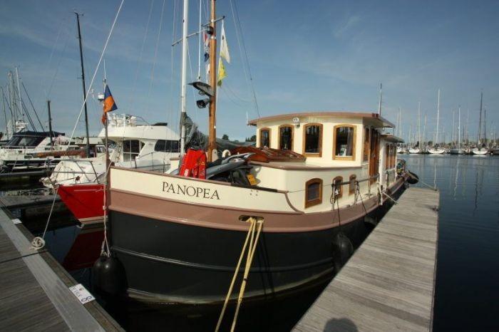 A vendre beau lux moteur de 2001 14 95m 150cv bateaux et p niches vendre - Construction peniche neuve ...