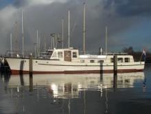 Photo Vedette à passagers, ancien navire de  service 17,70 x  4,25 m   2 x volvo penta /
